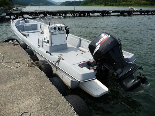 ヤマハU23 和船 ぶり