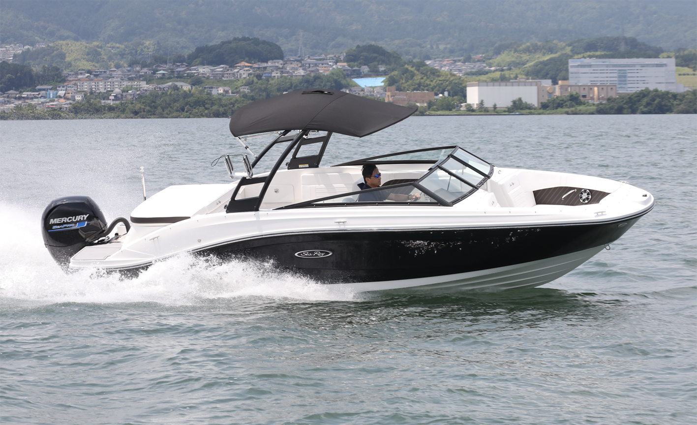 SeaRay SPX 230 OUTBOARD IMPRESSION