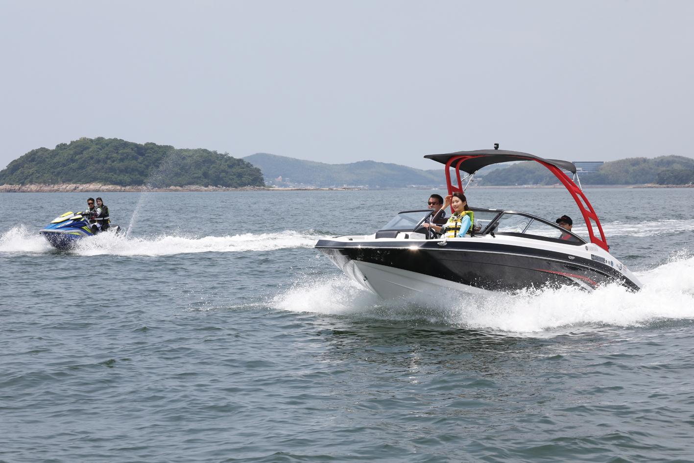 シースタイル艇にスポーツボートが登場!! 見所満載の三河湾をツーリングで満喫しよう!!